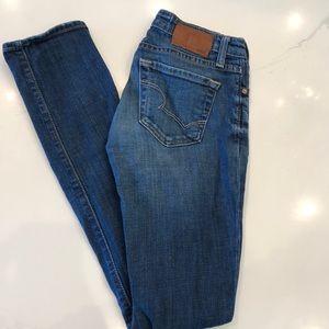 Big Star distressed jeans